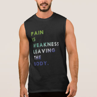 Pain | Strength | Training - Sleeveless Shirt
