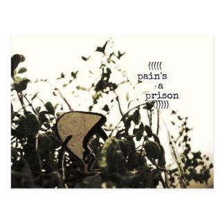 pain's a prison postcard