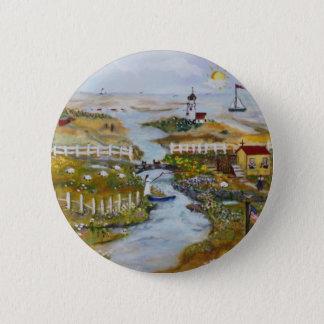 paint1 6 cm round badge