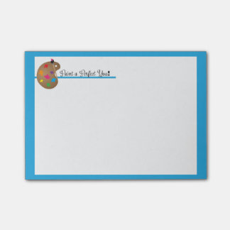Paint a Perfect You Post-it Notes