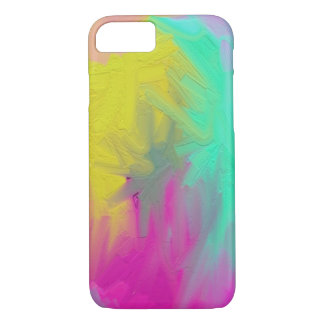 PAINT abstract vivid colors iPhone 7 Case
