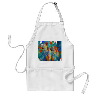 Paint an' Brushes Standard Apron