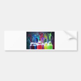 Paint Art Bumper Stickers