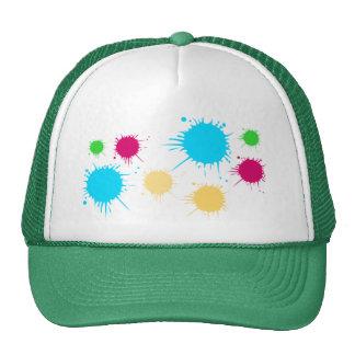 Paint Ball Trucker Hat