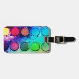 PAINT BOX LUGGAGE TAG