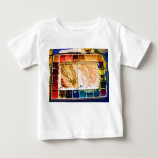 Paint box toddler T-shirt