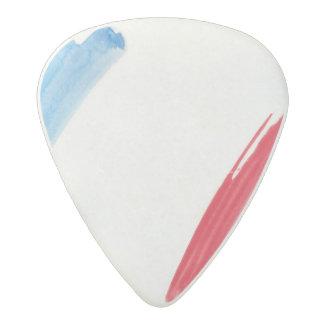 Paint Brush Flag of France Acetal Guitar Pick