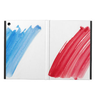 Paint Brush Flag of France Cover For iPad Air
