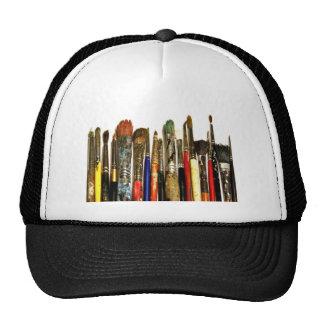 Paint Brush Mesh Hats