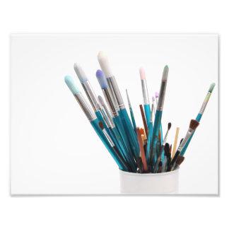 paint brushes artist photo