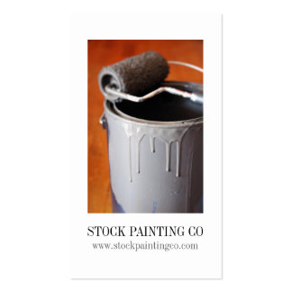 Paint Can Business Cards