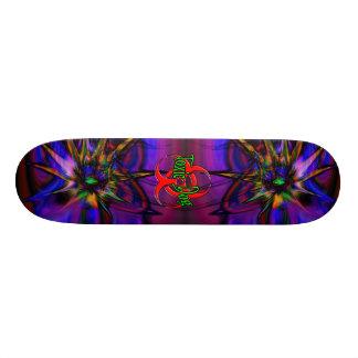 Paint Dreams Custom Skateboard