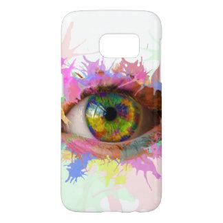 Paint Eye Case (Samsung Galaxy S7)