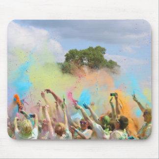 Paint Festival Mouse Pad