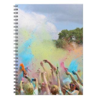 Paint Festival Notebook