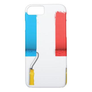 Paint France iPhone 7 Case
