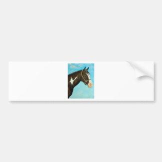Paint Horse Bumper Sticker