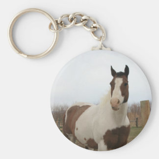 Paint horse key ring