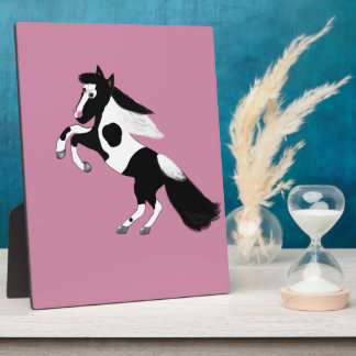Paint Horse Plaque