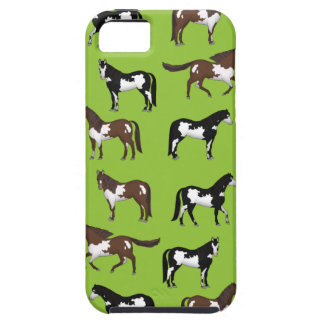 Paint Horse Tough iPhone 5 Case