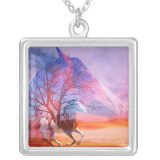 Paint Horse Tree Dreams Necklace