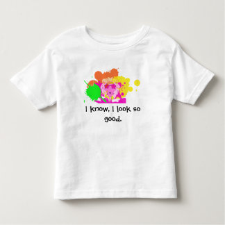 Paint Lion in style for kids Toddler T-Shirt