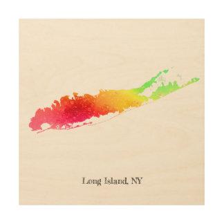 "Paint Long Island 12""x12"" Wood Wall Decor"