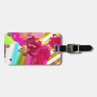 PAINT LUGGAGE TAG
