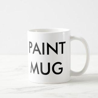 Paint Mug/Cup Coffee Mug