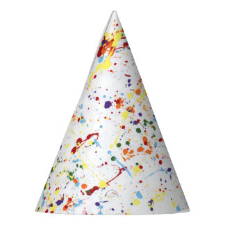"""""""Paint Party"""" Party Hats"""
