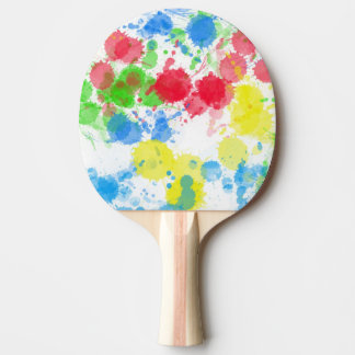 paint ping pong paddle