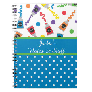 Paint Polka Dots Notebook