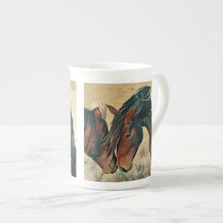 Paint Ponies Tea Cup