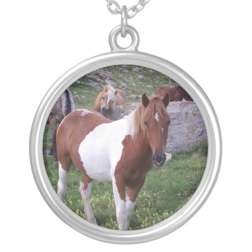 Paint Pony Necklace