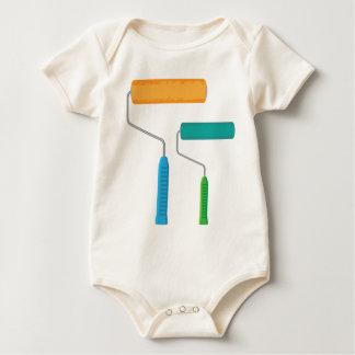Paint Roller Baby Bodysuit