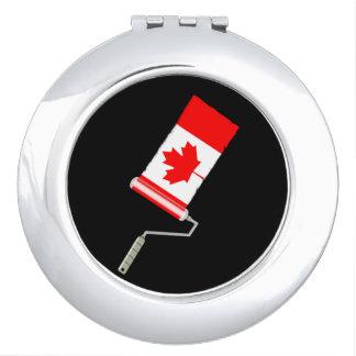 Paint Roller Canada Vanity Mirror