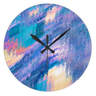Paint Splash Clock