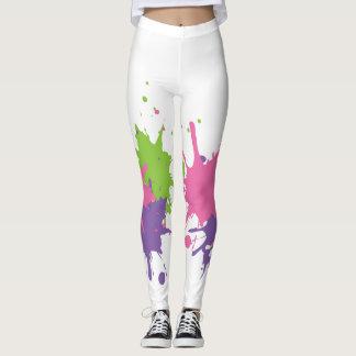 Paint Splat Leggings