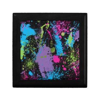Paint Splater Gift Box