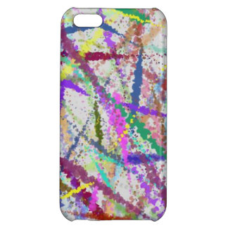 Paint Splatter 2 Cover For iPhone 5C