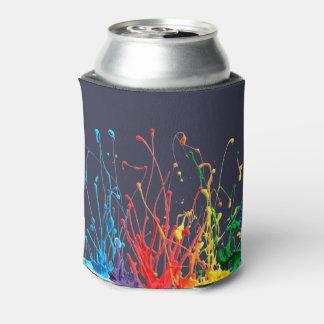 Paint Splatter 3D Can Cooler