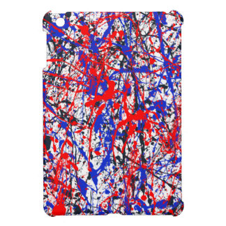 Paint Splatter Abstract Art Cover For The iPad Mini