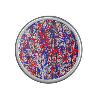 Paint Splatter Abstract Art Speaker