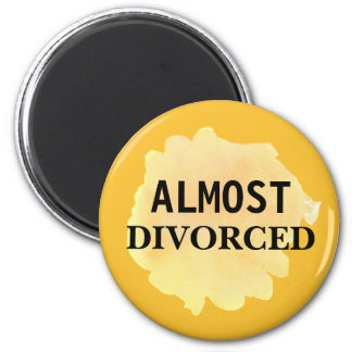 Paint Splatter Almost Divorced Magnet