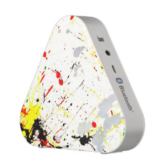 Paint Splatter Background 1 Bluetooth Speaker