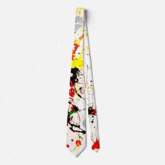 Paint Splatter Background (1) Tie