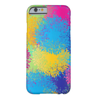 Paint Splatter Barely There iPhone 6 Case