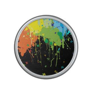 Paint Splatter Bluetooth Speaker