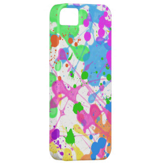 Paint Splatter iPhone 5 Covers