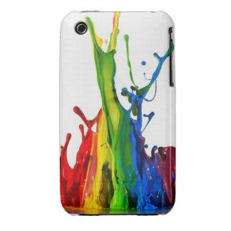 Paint splatter iPhone 3 Case-Mate cases